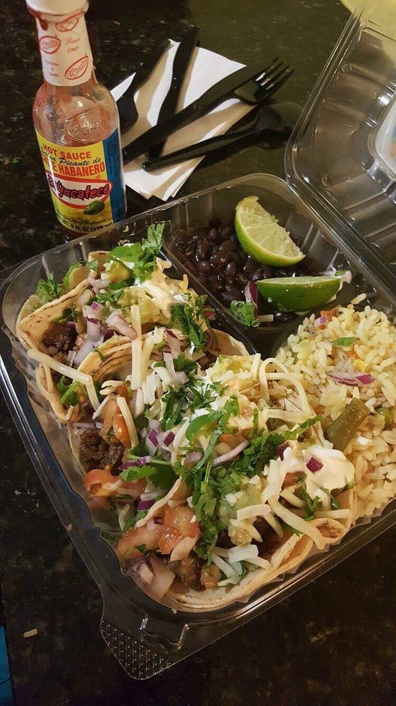 Food from Taco Loco Mexican Grill