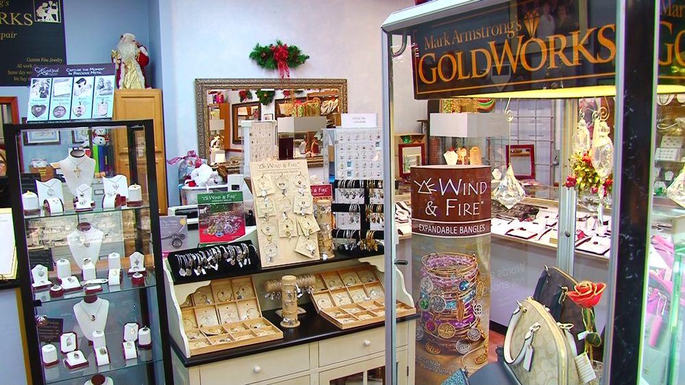 Mark Armstrong's Goldworks: 1715 Elizabeth Pike, Mineral Wells, WV