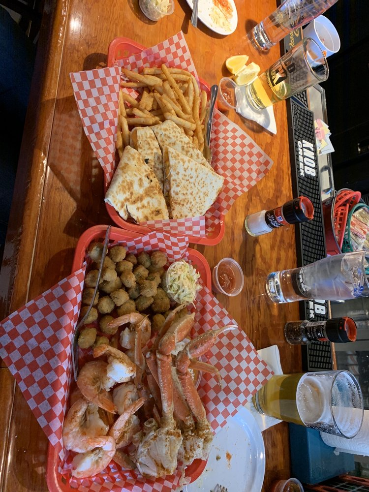 Food from King's Crab Shack & Oyster Bar