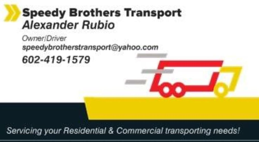 Speedy Brothers Transport