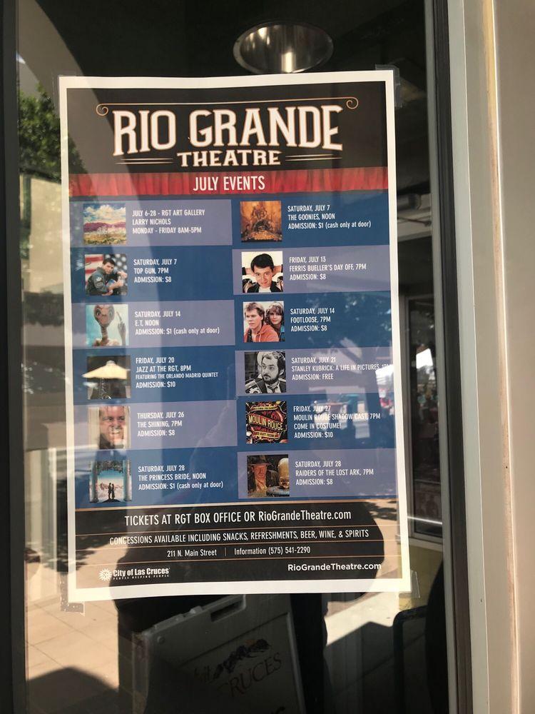 Rio Grande Theatre: 211 Main St, Las Cruces, NM