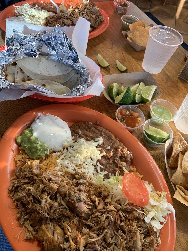 Food from San Luis Taqueria
