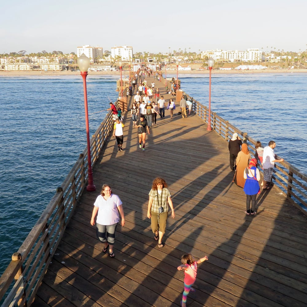 The Pier: The Pier Is 2,000 Ft Long