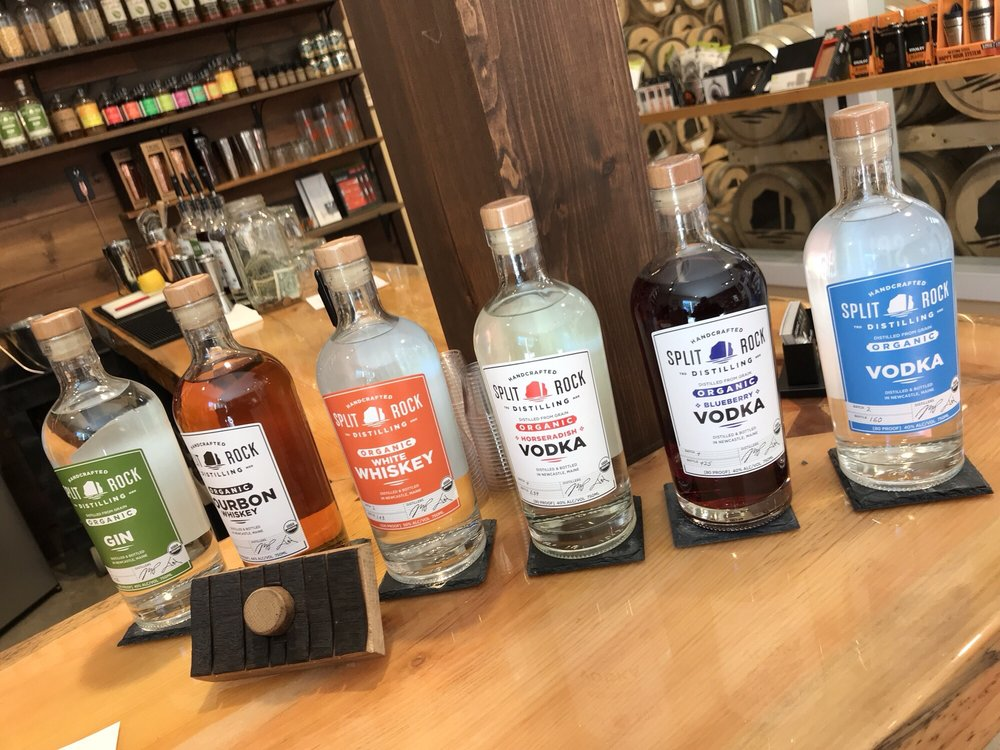 Split Rock Distilling: 16 Osprey Point Rd, Newcastle, ME