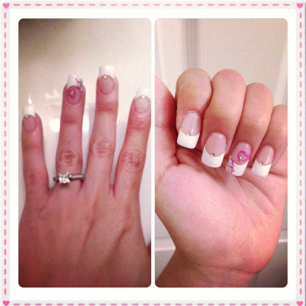 Nail designs together with black grey acrylic nails also nail salons
