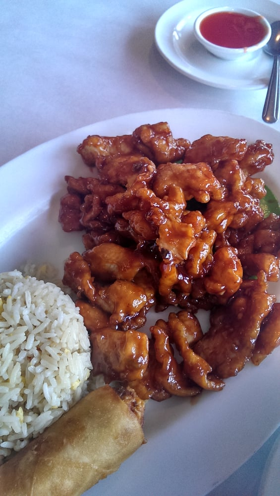 General chicken lunch special yelp for Amlee chinese cuisine
