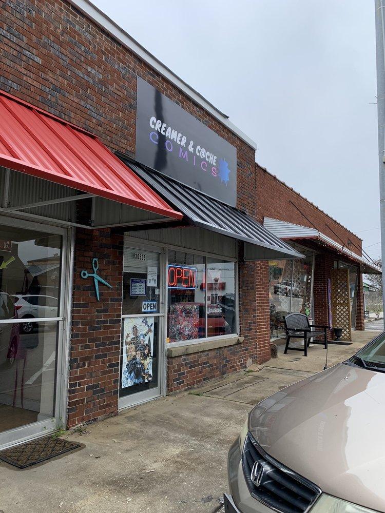 Creamer & Cache Comics: 30505 Ardmore Ave, Ardmore, AL