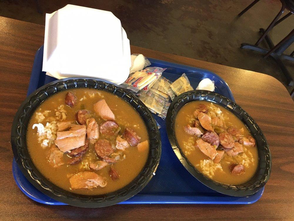Food from Billedeaux's Cajun Kitchen