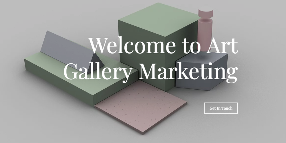 Art Gallery Marketing