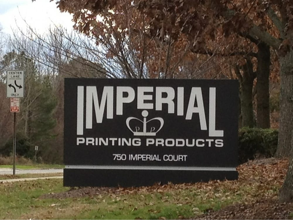 Imperial printing print media 750 imperial ct for Imperial printing