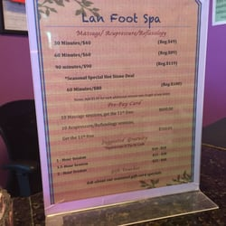 lan foot spa rockville