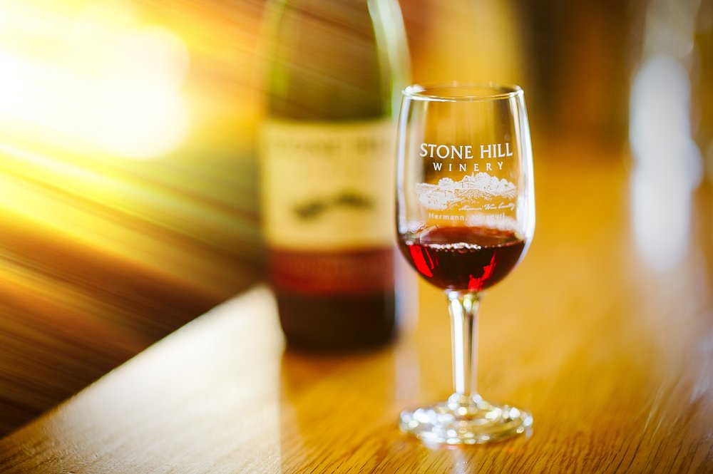 Stone Hill Winery: 1110 Stone Hill Hwy, Hermann, MO
