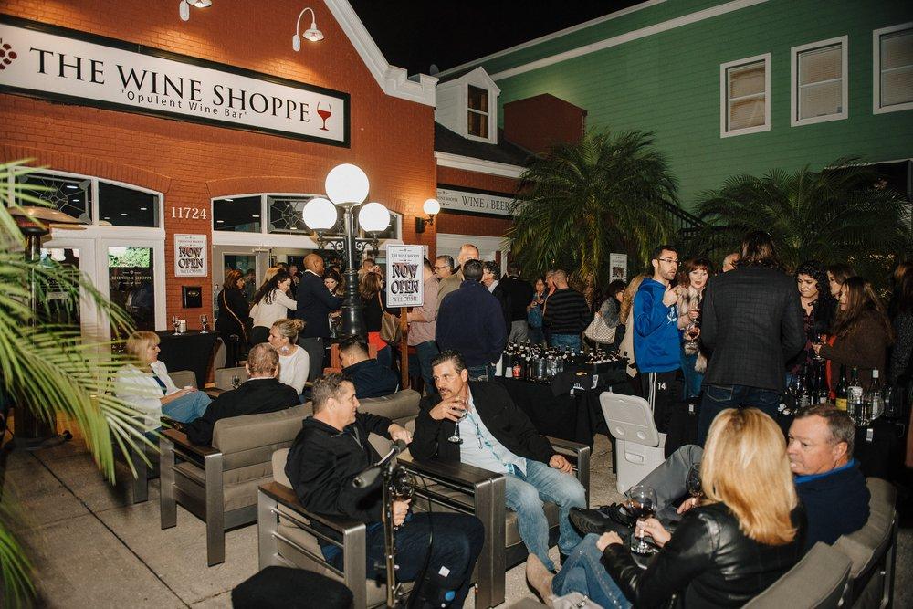 The Wine Shoppe: 11724 N Dale Mabry Hwy, Tampa, FL