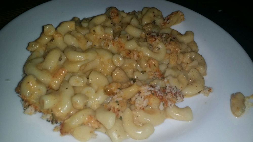 Mac N Cheese  Not bad at all pleasantly surprised by the actual