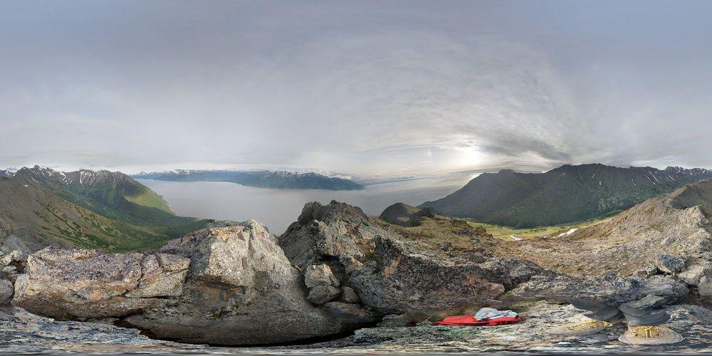 Rainbow Trailhead: 108, Seward Hwy, Anchorage, AK