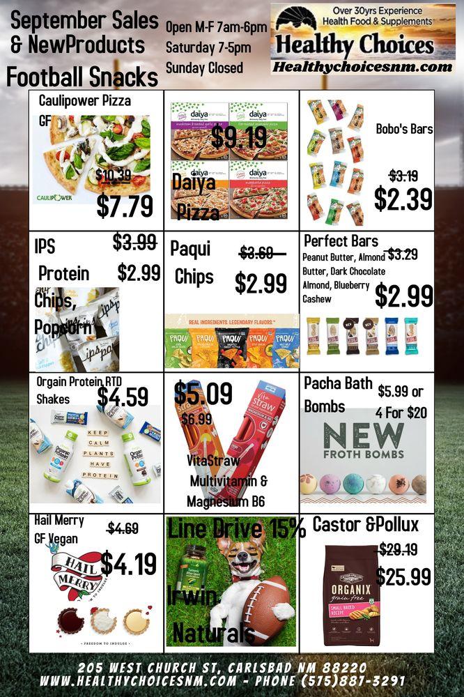 Healthy Choices: 205 W Church St, Carlsbad, NM