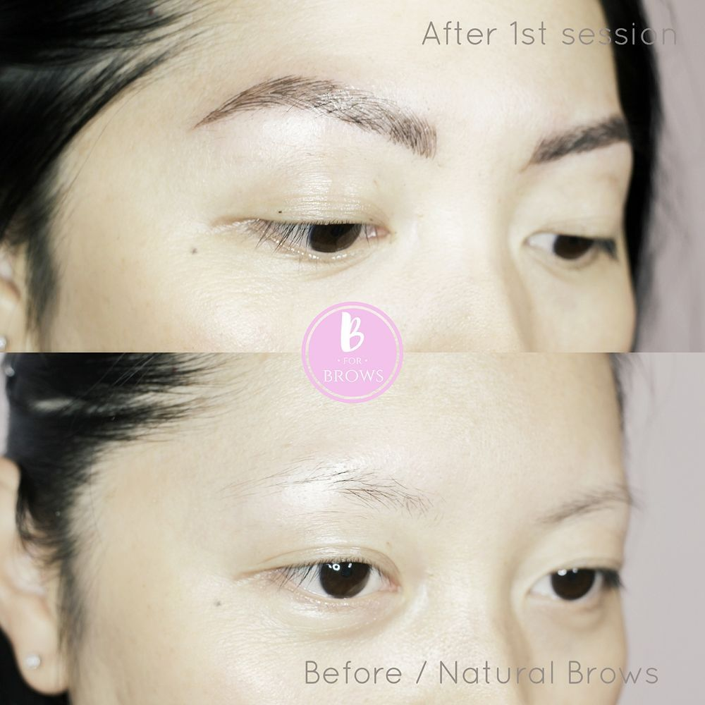 Microblading Eyebrows Tattoo Can Benefit Those With Barely Any