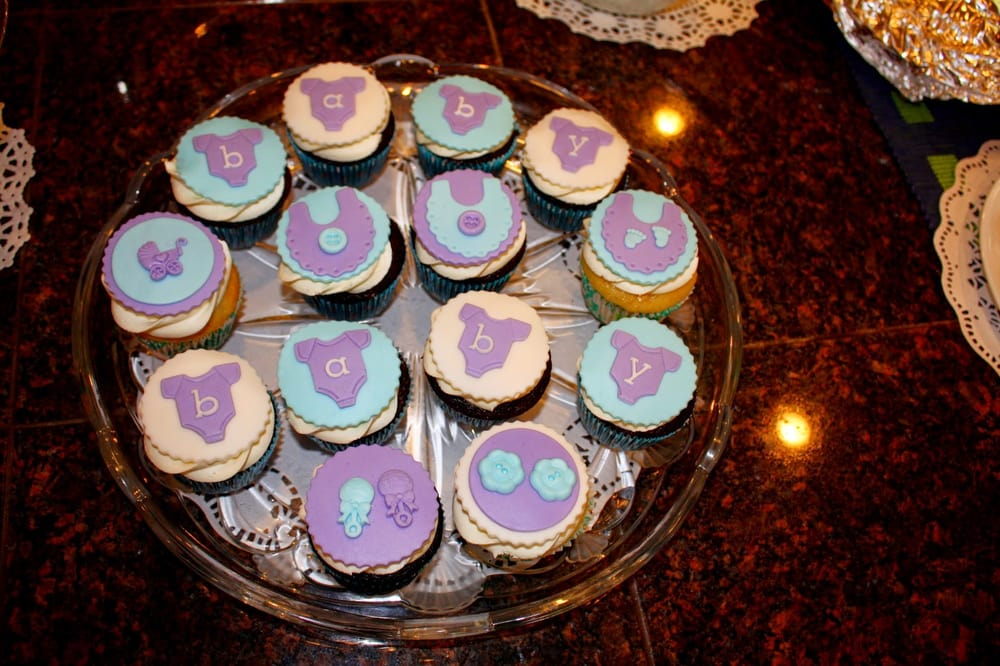 photo of sugar chemistry san jose ca united states boy baby shower - Decorating Baby Shower Cupcakes