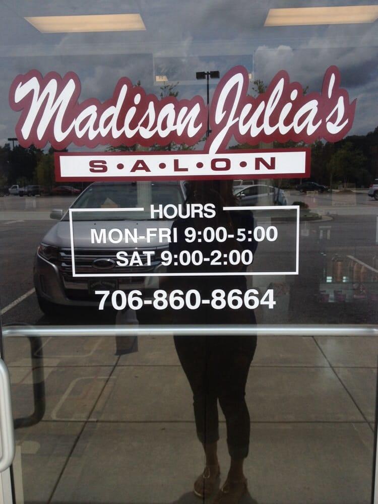 Madison Julia's Salon: 5117 Washington Rd, Evans, GA