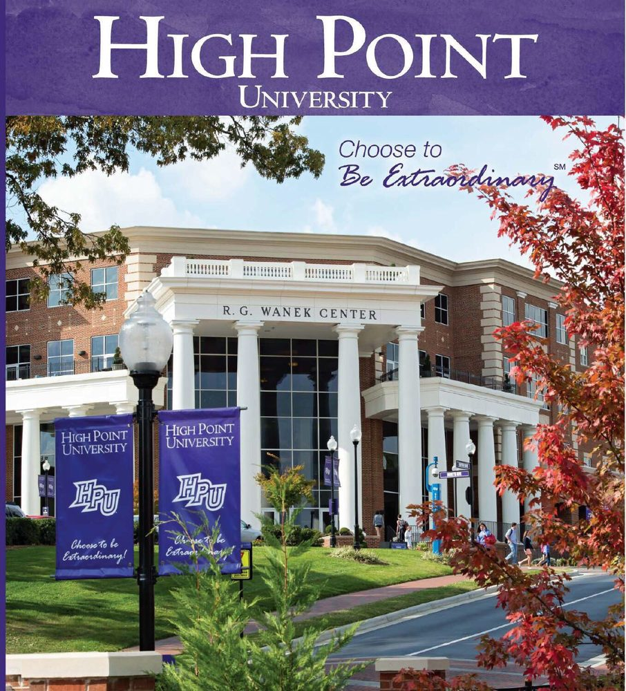 High Point University: 1 University Pkwy, High Point, NC