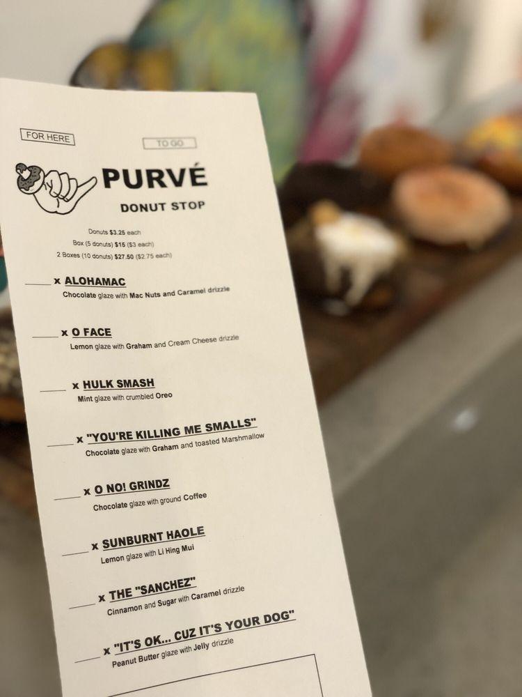 PURVÉ Donut Stop