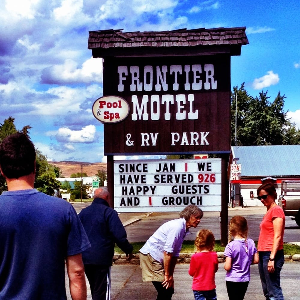 Frontier Motel & Rv Park: 240 S Superior St, Cambridge, ID