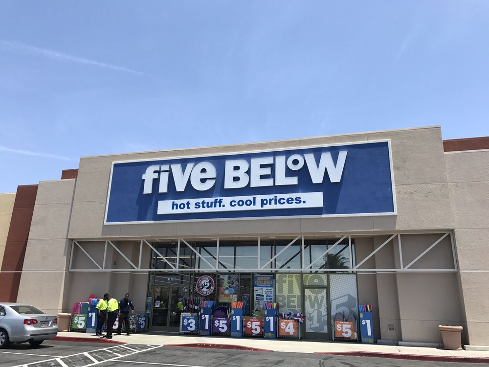 Five Below: 14350 Ocean Gate Ave, Hawthorne, CA