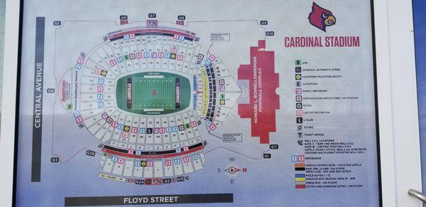 Papa John's Cardinal Stadium 2800 S Floyd St Louisville, KY Stadiums on