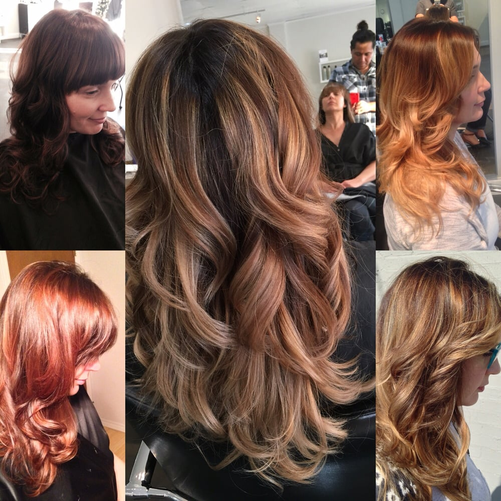 Hair Color And Haircuts By Parlour Salon Master Stylist Jesus Garcia
