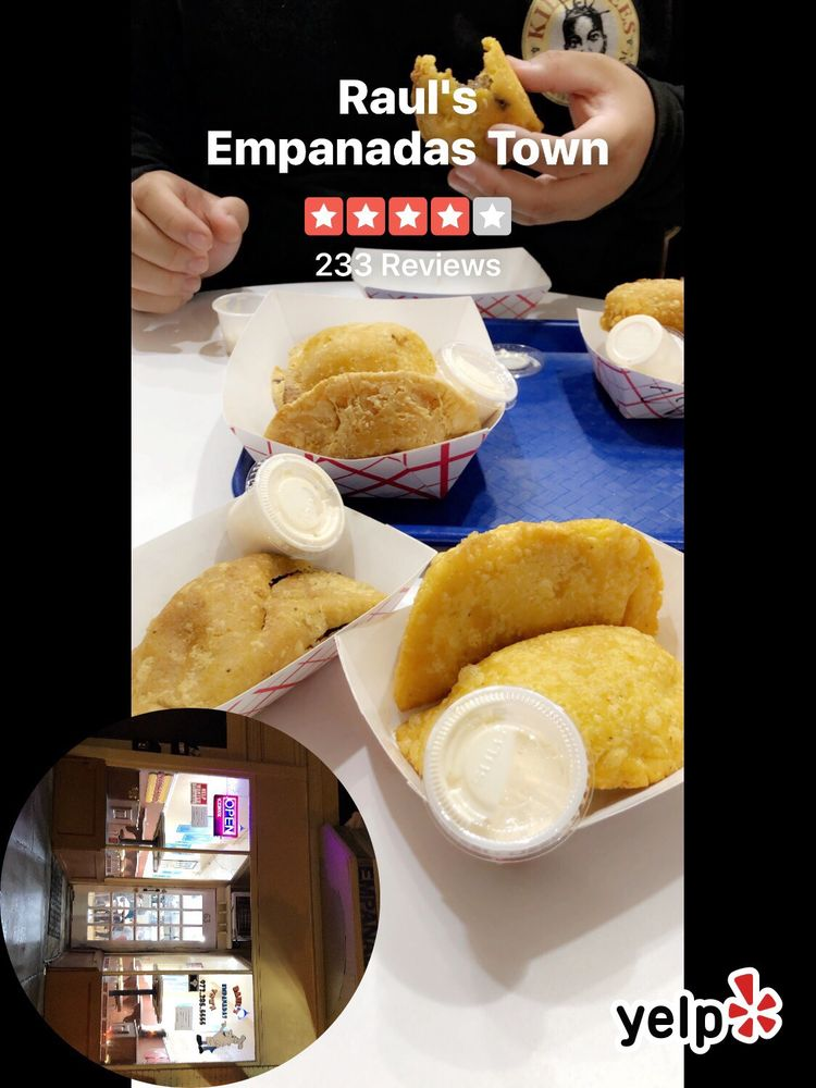 Food from Raul's Empanadas Town