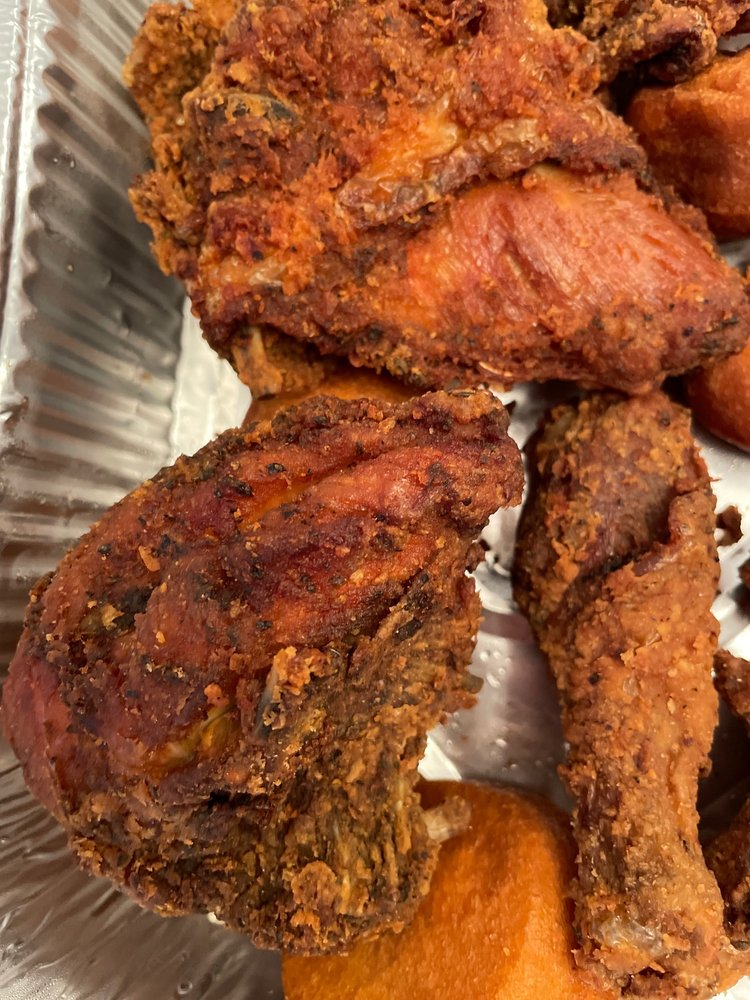 Food from Cluck U Chicken