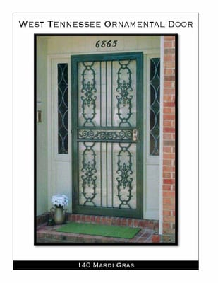 West Tennessee Ornamental Door 1800 Transport Ave Memphis Tn Doors Manufacturers Mapquest