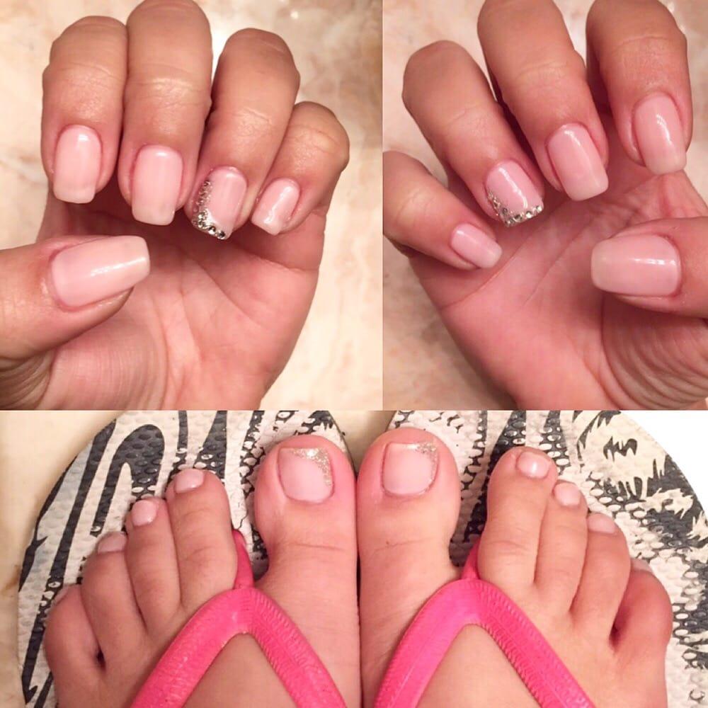 My Birthday no chip gel mani/pedi. Perfect princess nails! - Yelp