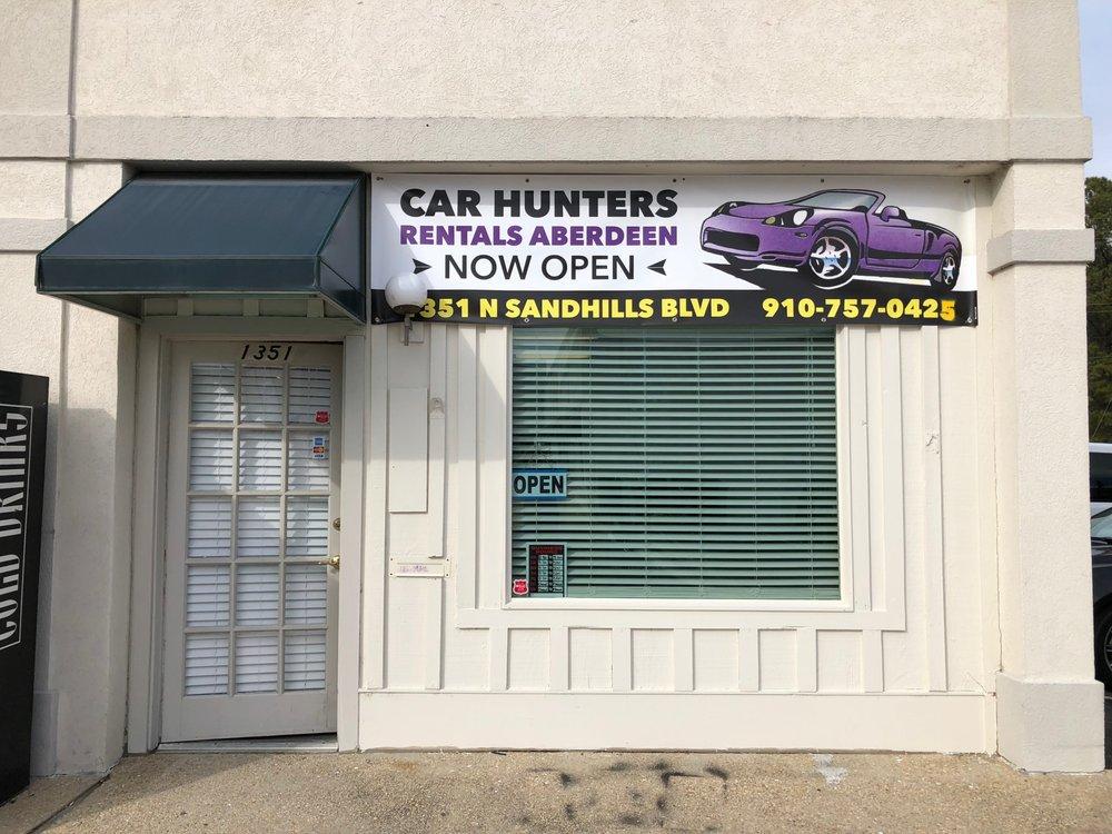 Car Hunters Rental: 1351 N Sandhills Blvd, Aberdeen, NC
