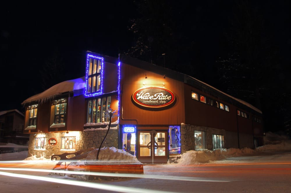 Wave Rave Snowboard Shop: 3203 Main St, Mammoth Lakes, CA