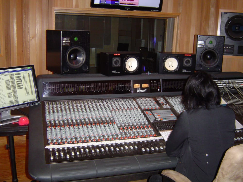 yamaha ns10. photo of granite park recorders - penryn, ca, united states. control room amek yamaha ns10