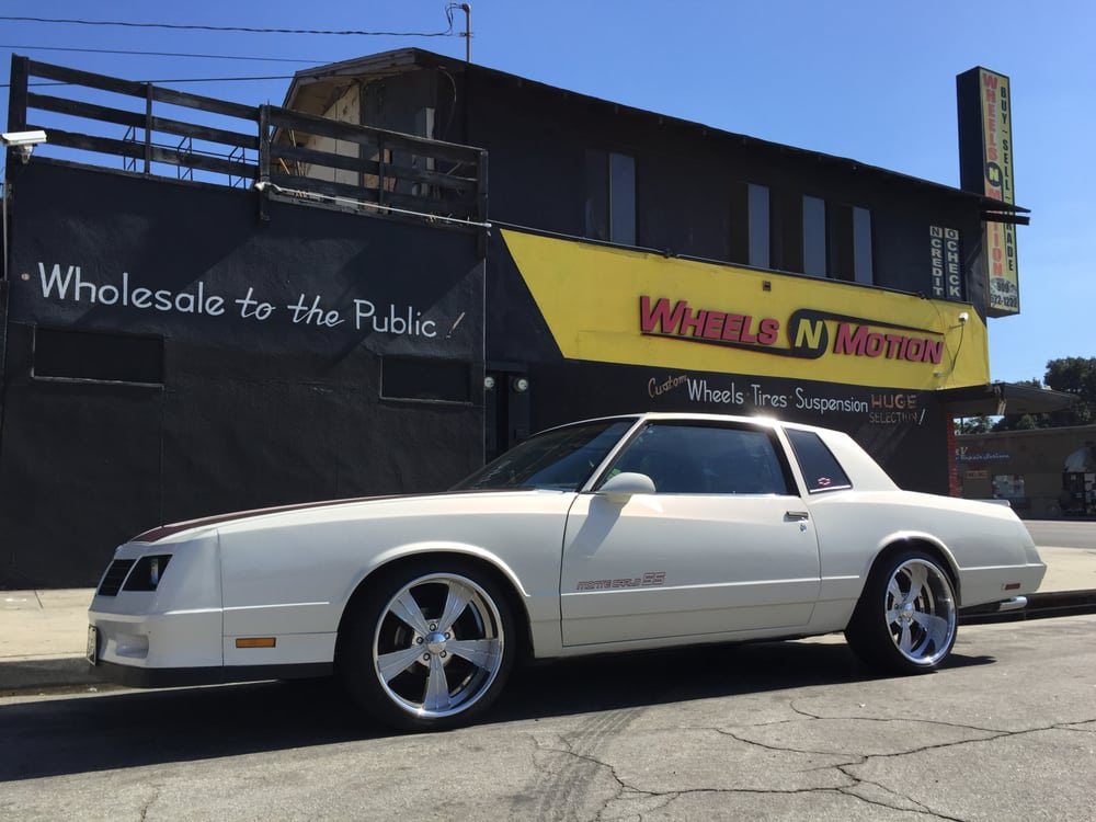 1986 Chevy Monte Carlo SS on 20