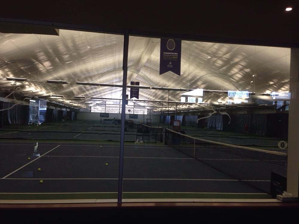 Club de tennis int rieur de l ile des soeurs tennis for Club de tennis interieur saguenay
