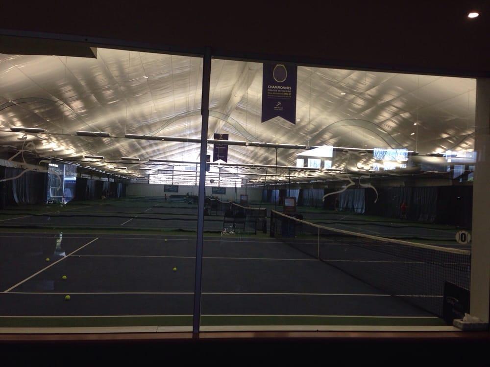 club de tennis int rieur de l ile des soeurs tennis
