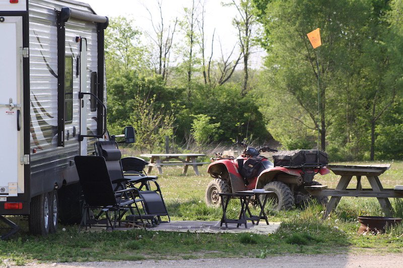 Off the Trail Vacation Rentals & Campground: 3970 N Xavier Rd, Attica, IN