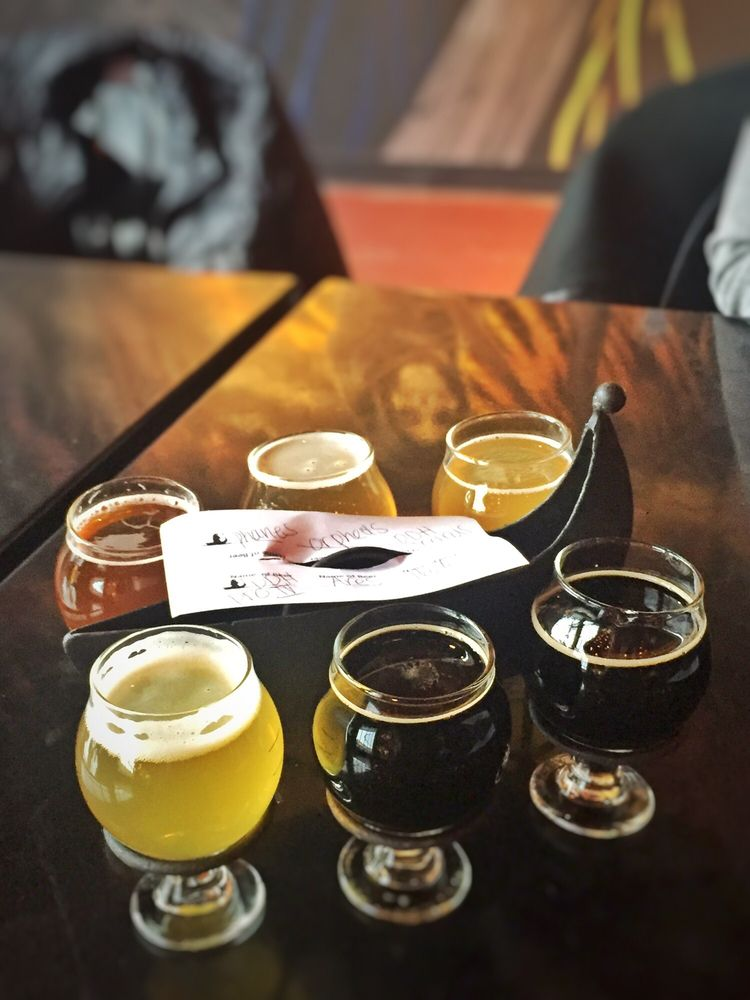 Food from River Styx Brewing