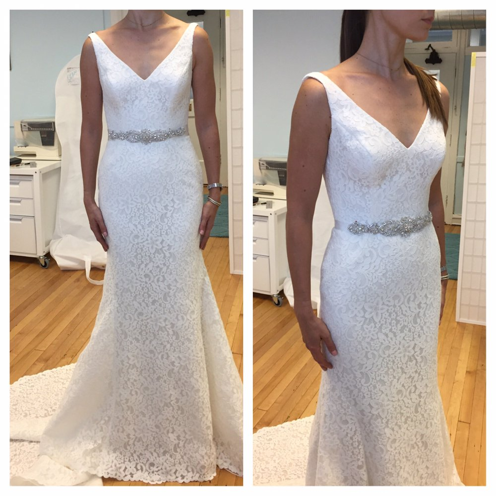 Amazingly Beautiful And Fitted Wedding Dress Yelp