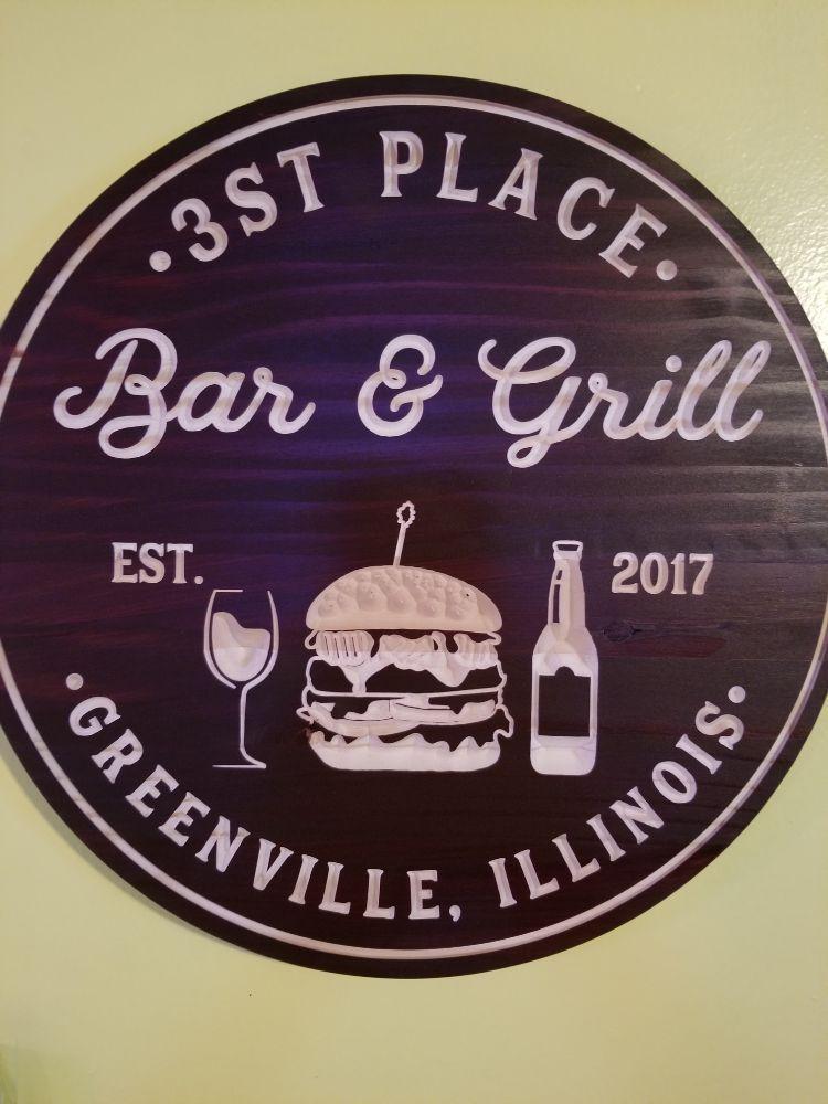 3st Place Bar & Grill: 596 IL-127, Greenville, IL