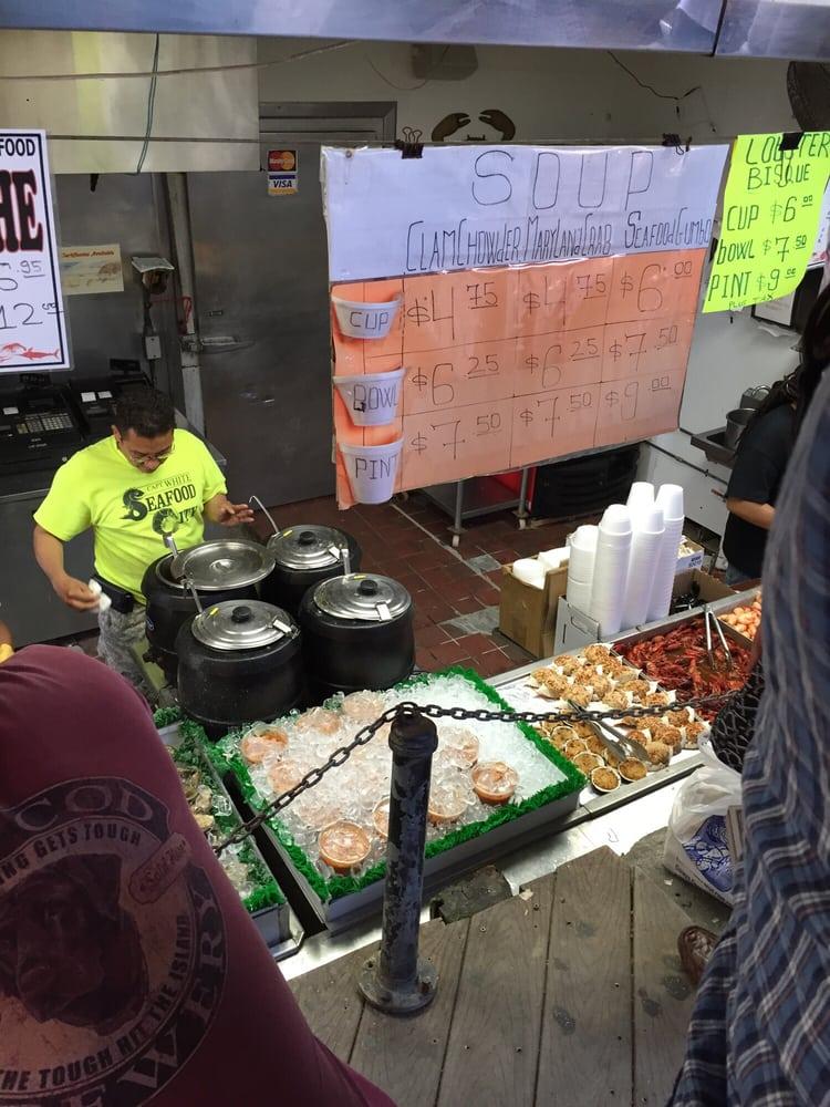Lobster bisque $6 next - Yelp