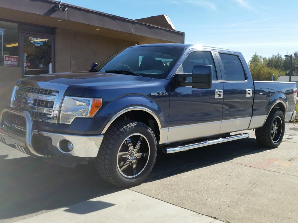 """2013 ford f-150 on 20"""" motiv rims and nitto terra grappler ..."""