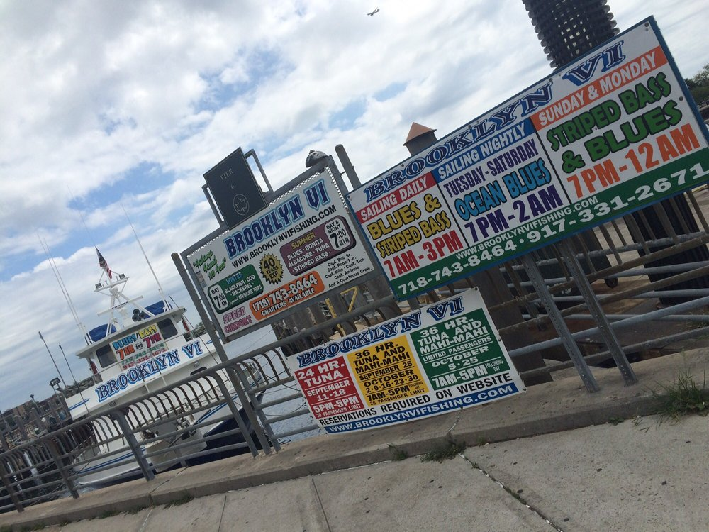 Brooklyn vi 15 photos 22 reviews fishing pier 6 on for Brooklyn vi fishing