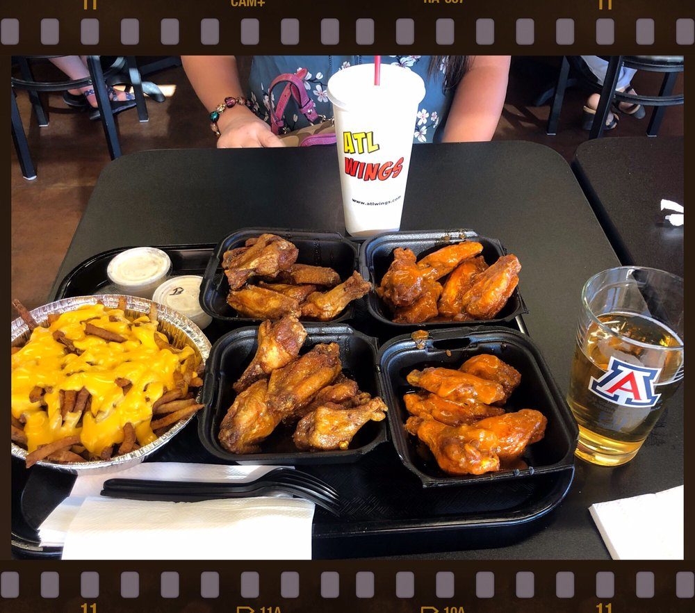 Food from ATL Wings - Tucson
