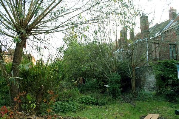 Jardin communautaire des retrouvailles park forests 11 rue montesquieu moulins lille - Le jardin champetre magog lille ...