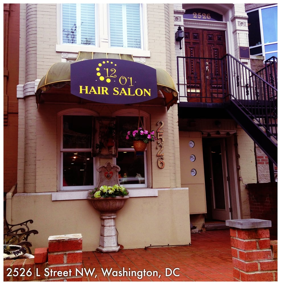 1201 hair salon hairdressers 2526 l st nw foggy
