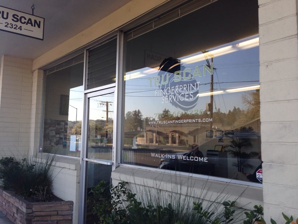 TruScan Fingerprint Services: 2324 4th St, Santa Rosa, CA